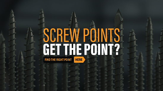 Blackhawk Screw Points