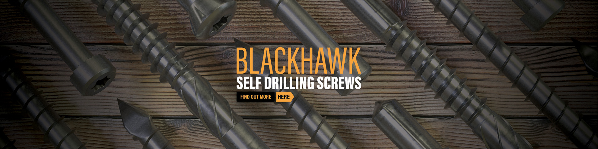 Blackhawk Self Drilling Screws